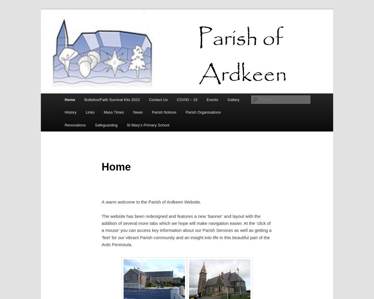 Ardkeen Parish Website