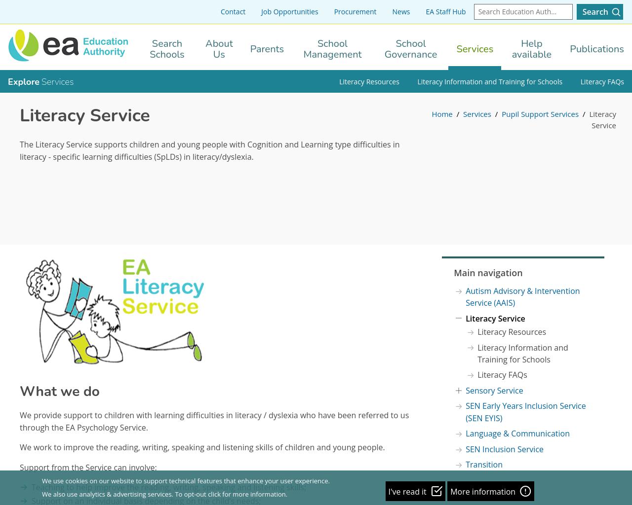 EA: Literacy Service