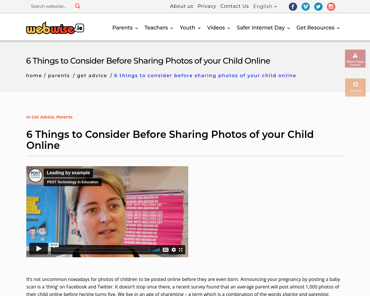 6 things to think about before sharing photos of your child online