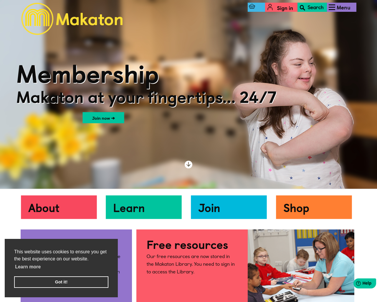 We Talk Makaton