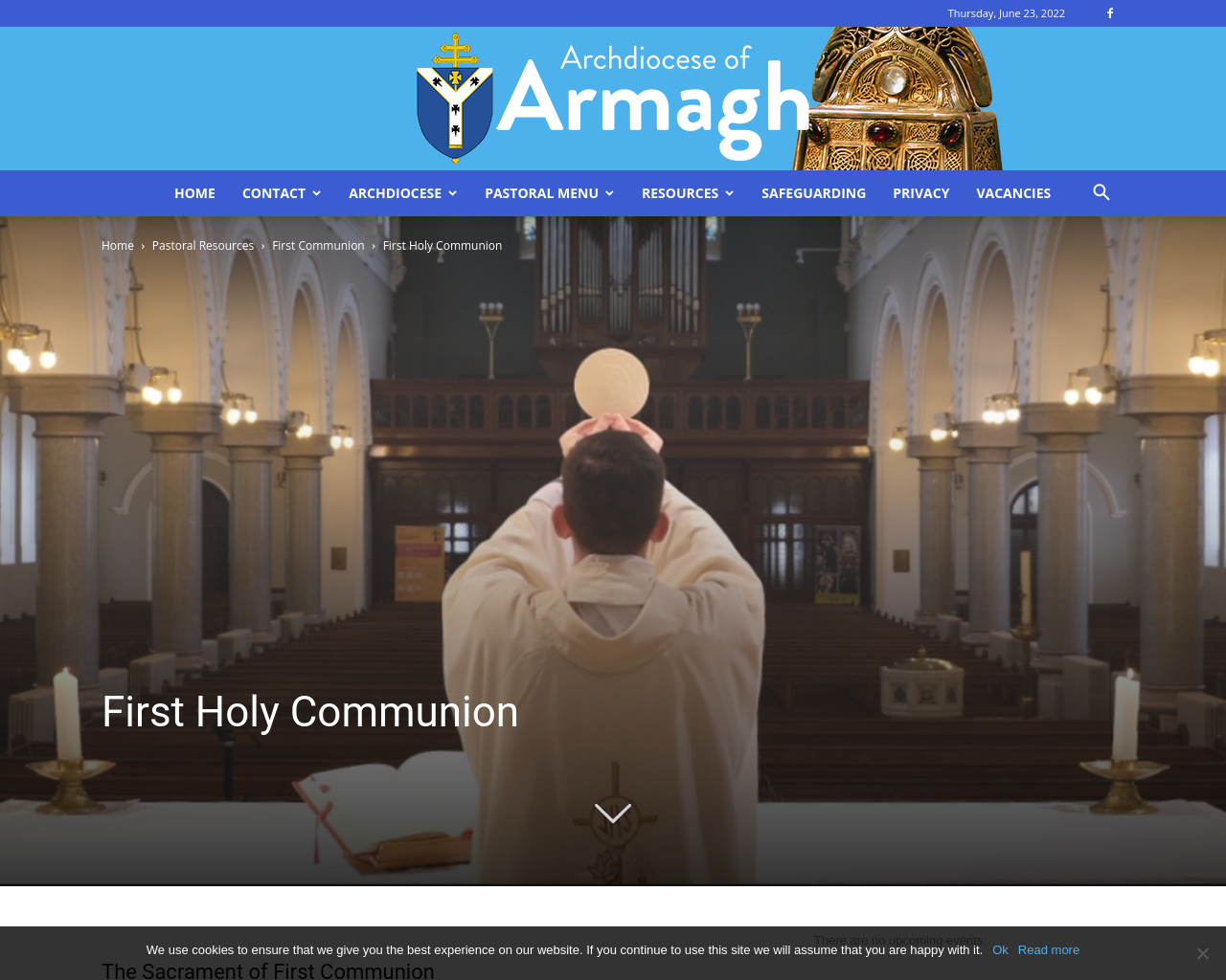 Armagh Archdiocese Holy Communion