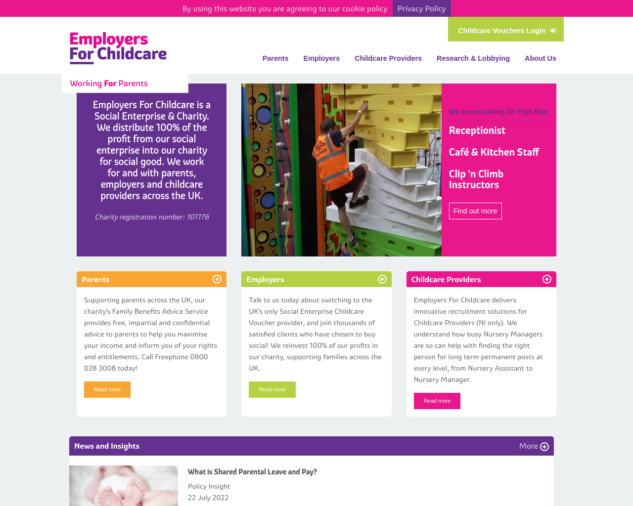 Employer For Childcare