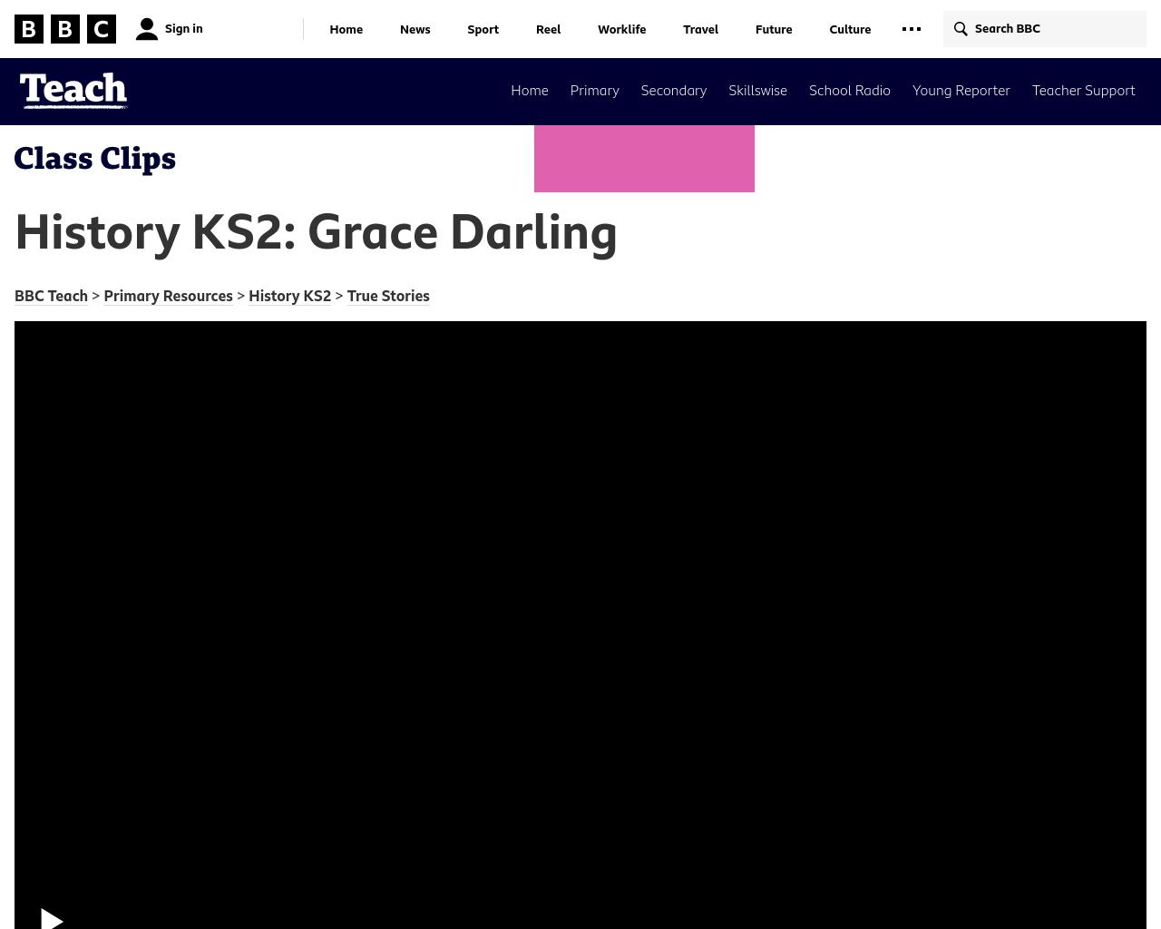 Grace Darling True Stories