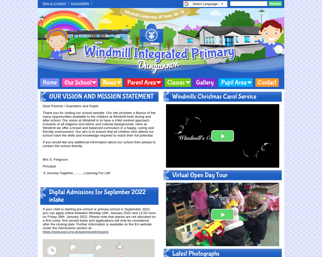 Windmill PS Dungannon