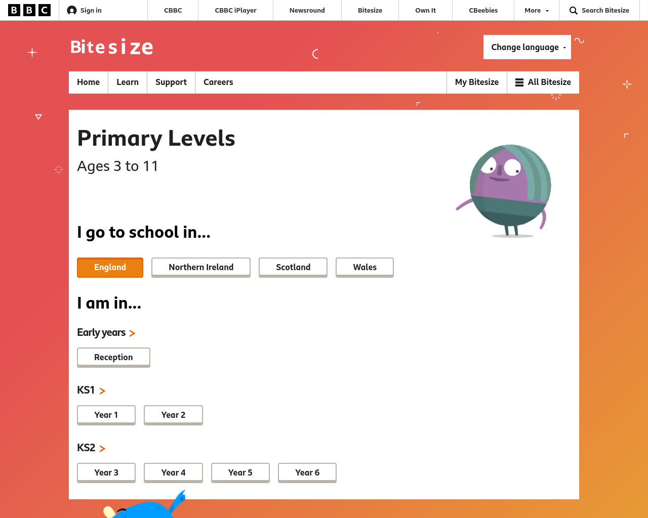 BBC PRIMARY SCHOOL SITES