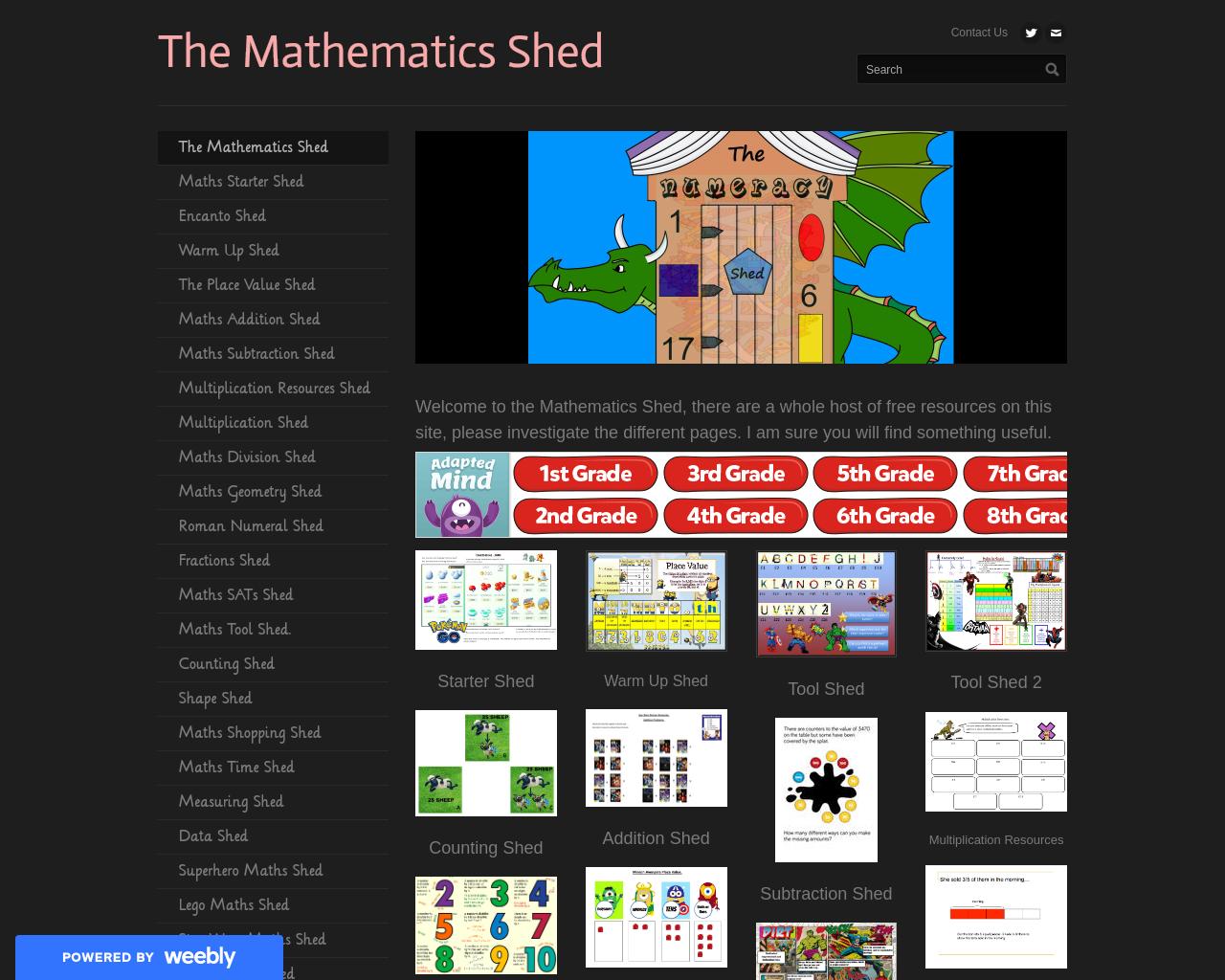 Mathematics Shed