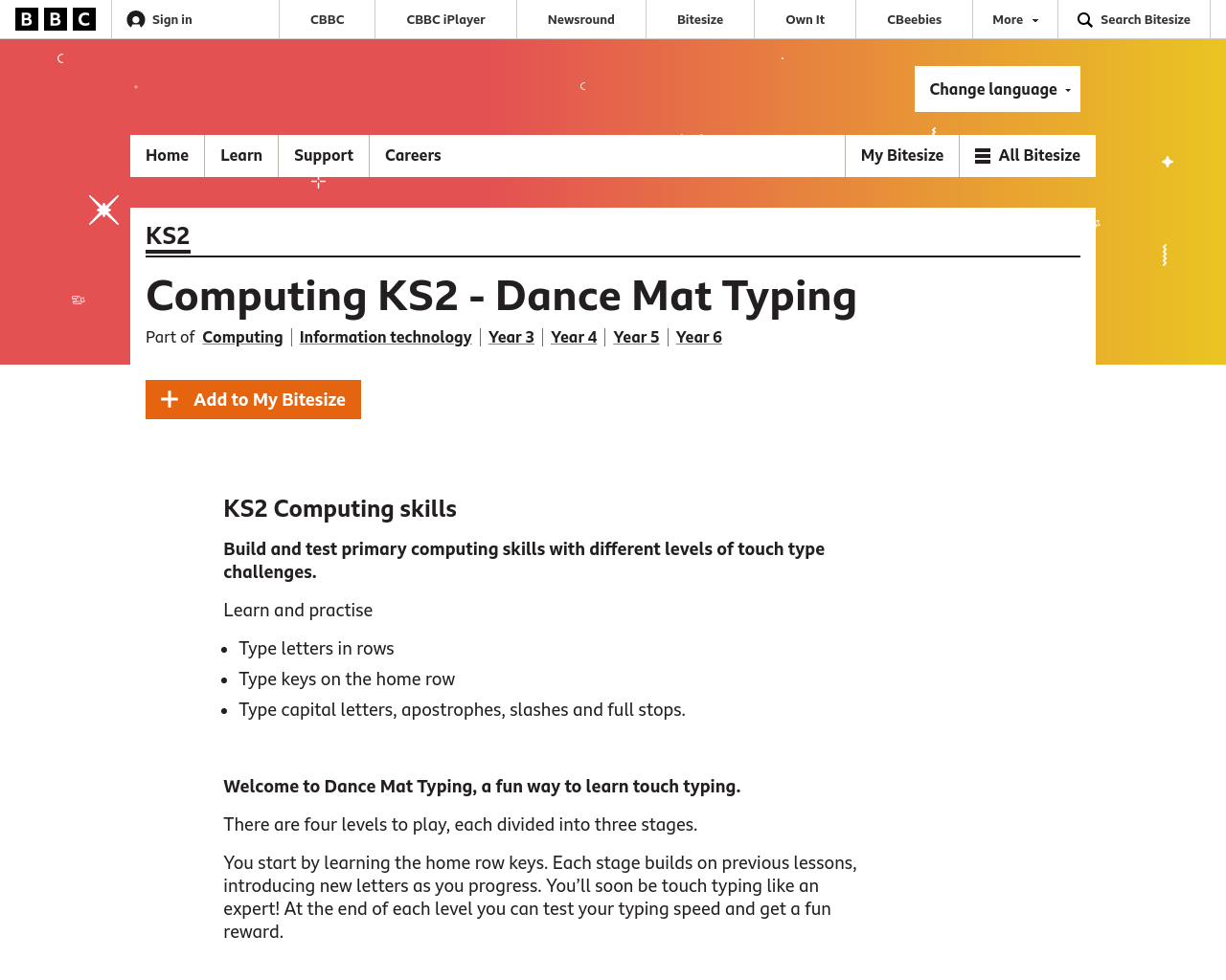 Dance Map Typing