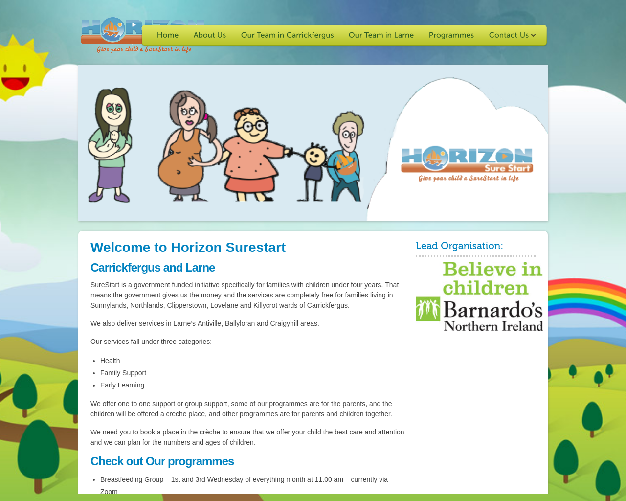 Horizon Surestart