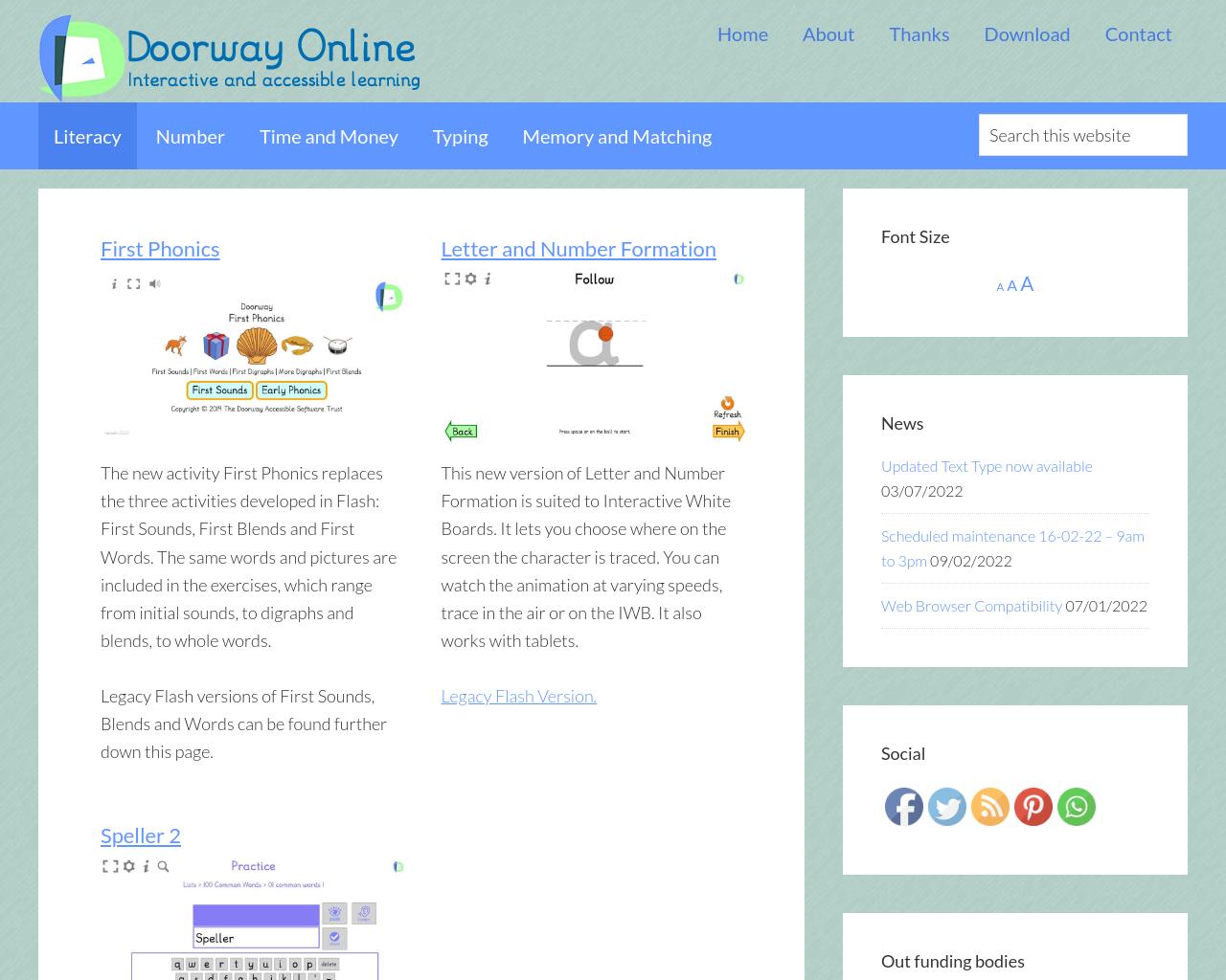 Doorway Online Literacy