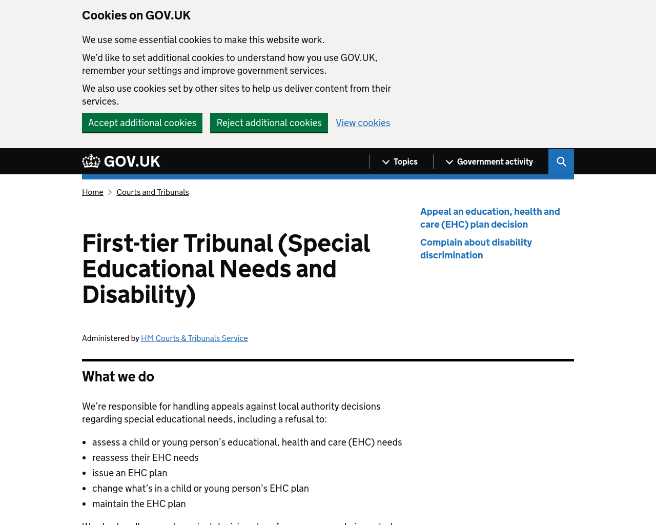 Tribunals Service