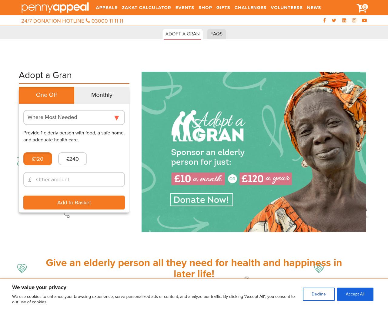 Adopt A Granny