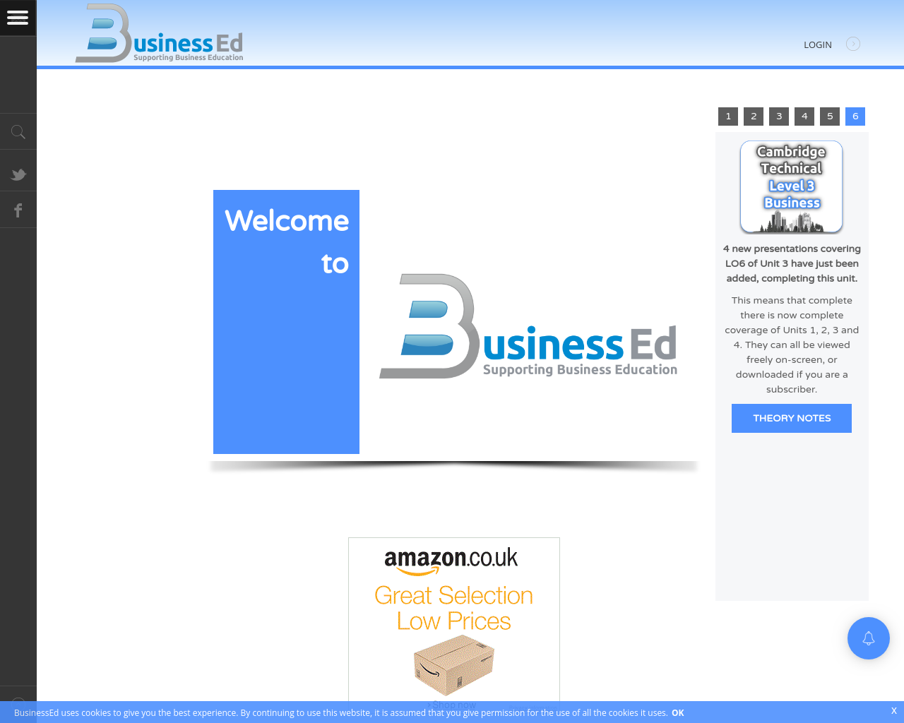 BussinessEd Website