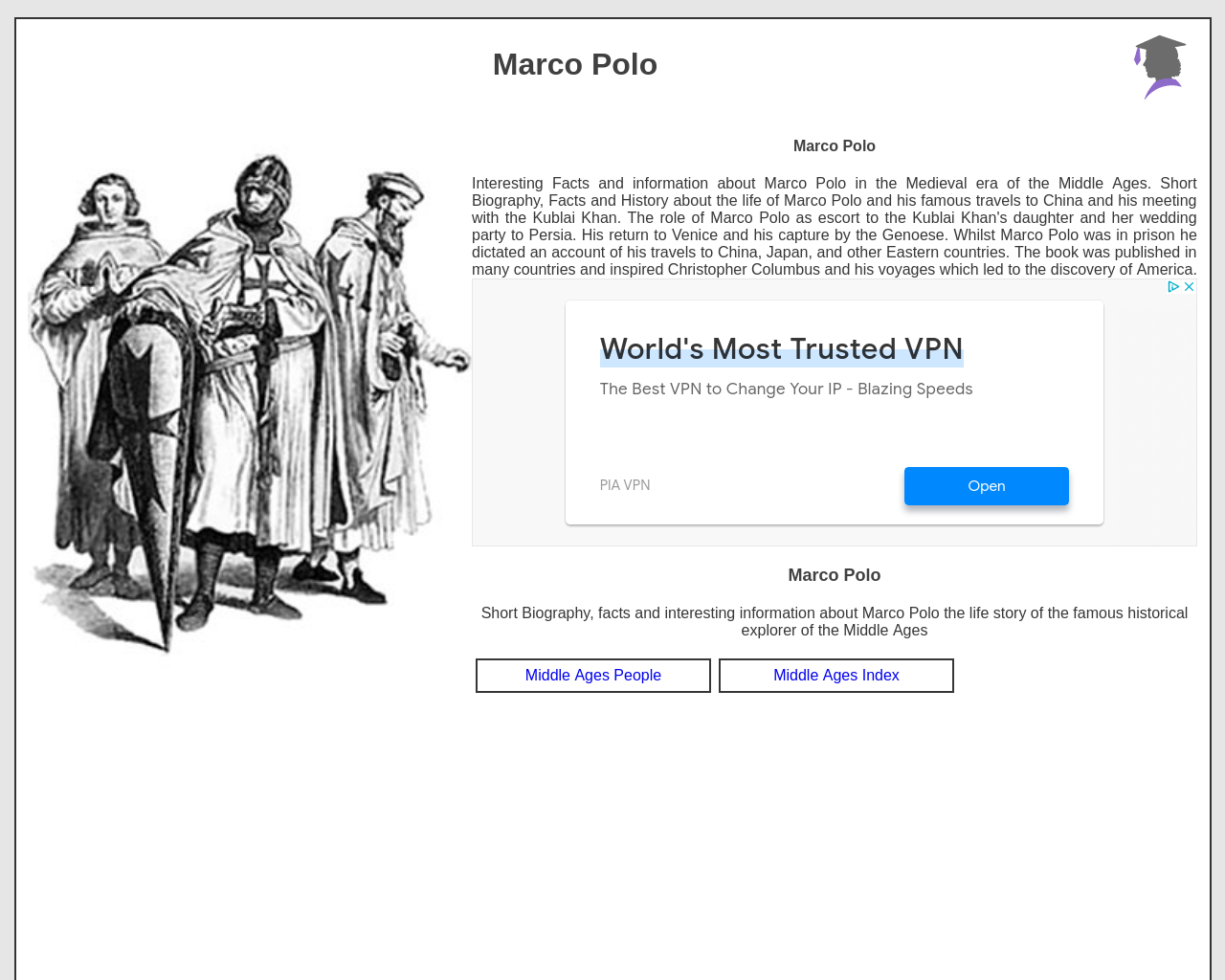 Marco Polo Facts