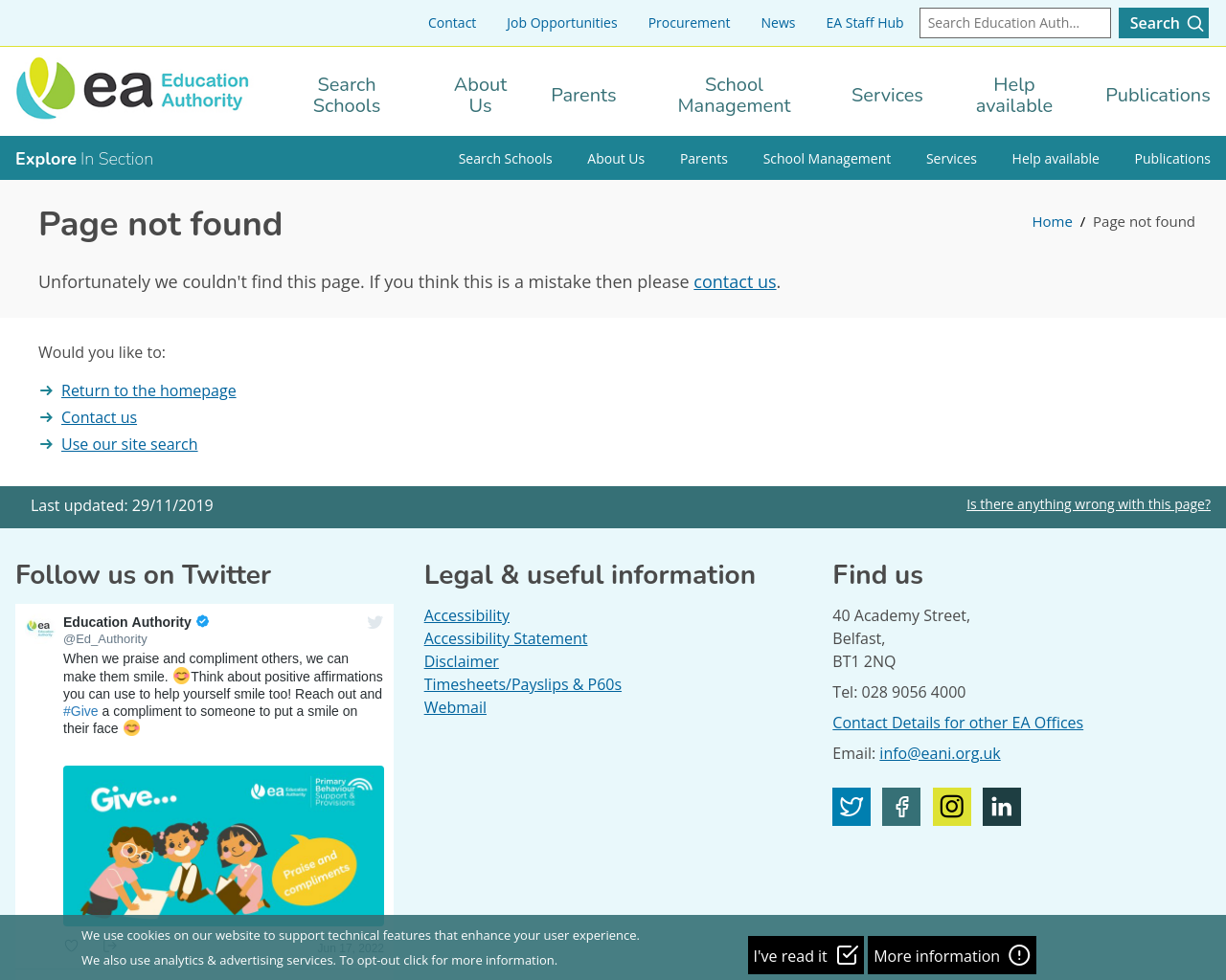 Apply for a primary school place (information)