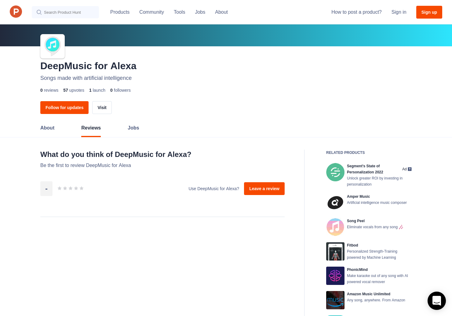 DeepMusic for Alexa Reviews - Pros, Cons and Rating | Product Hunt