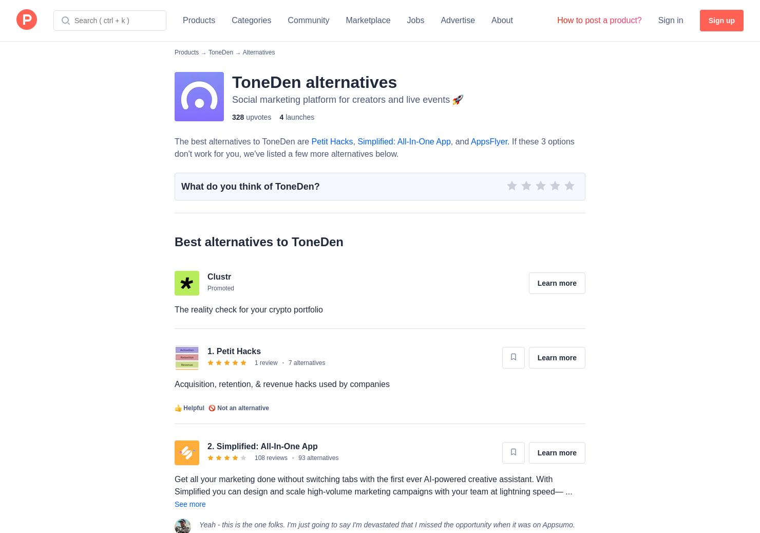 11 Alternatives to Toneden   Product Hunt