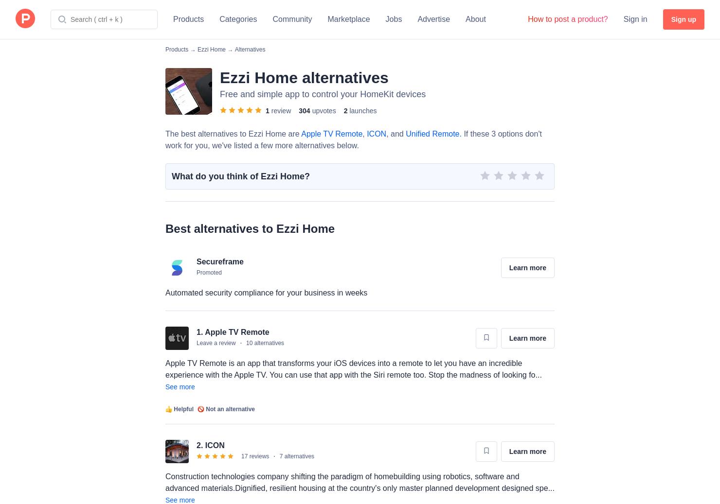 7 Alternatives to CiderTV for Apple TV | Product Hunt