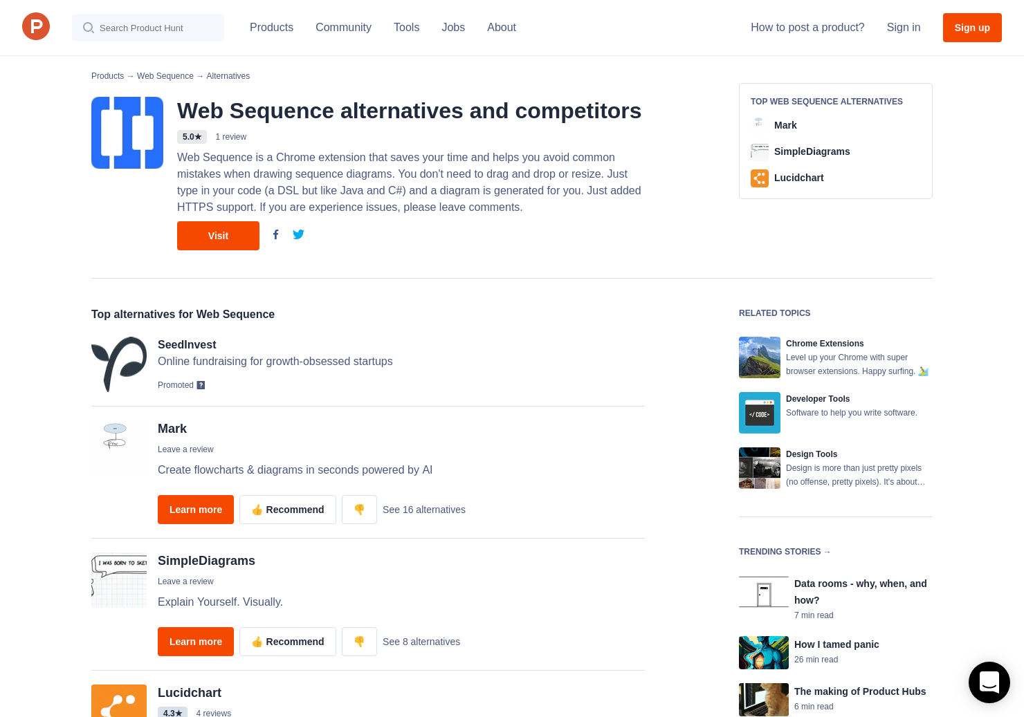 5 Alternatives to Web Sequence for Chrome Extensions
