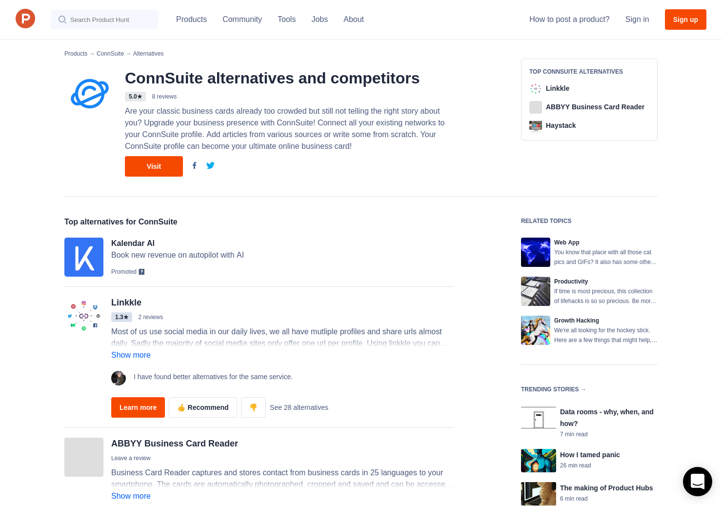 6 Alternatives to ConnSuite - Product Hunt