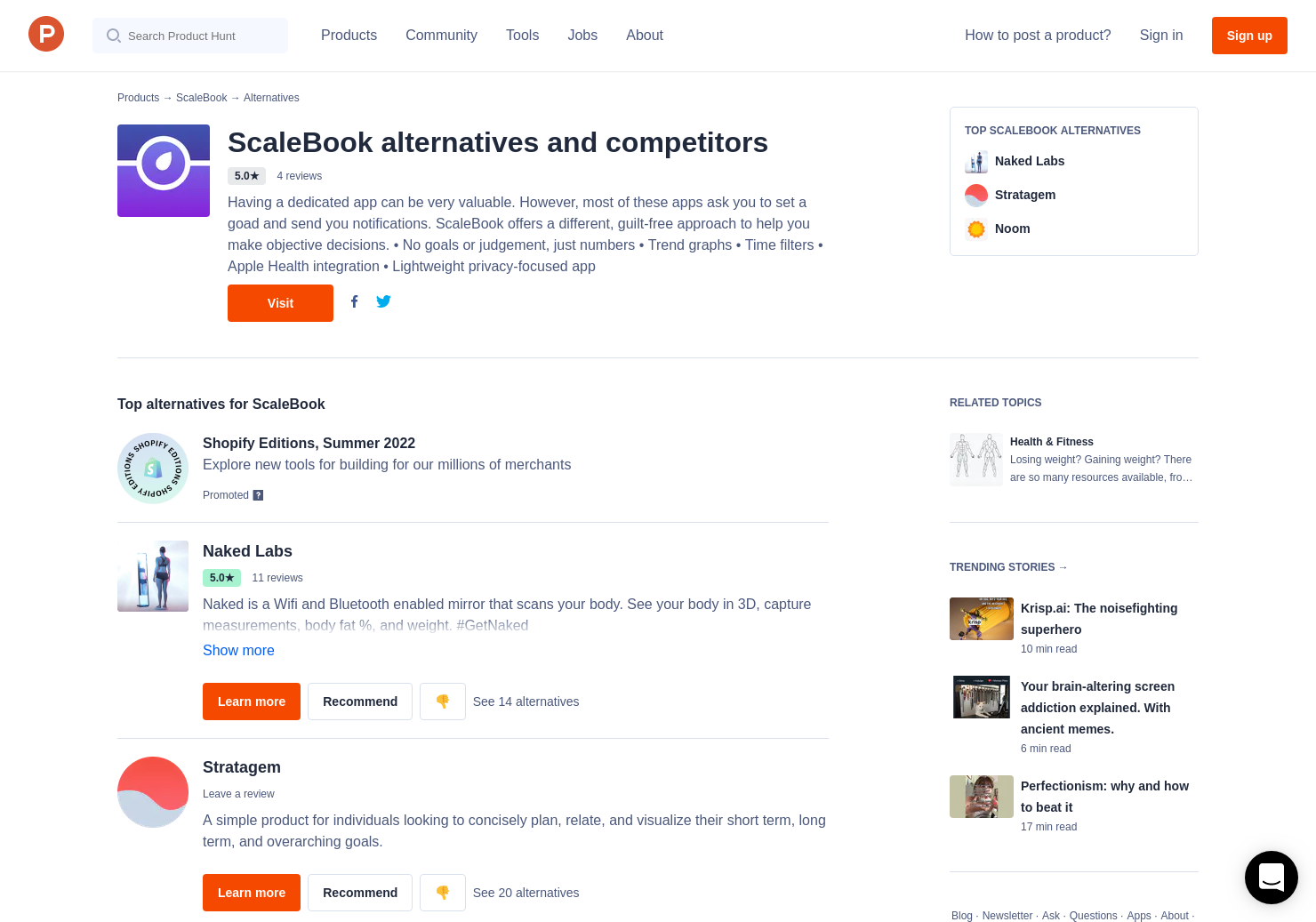 14 Alternatives to ScaleBook | Product Hunt