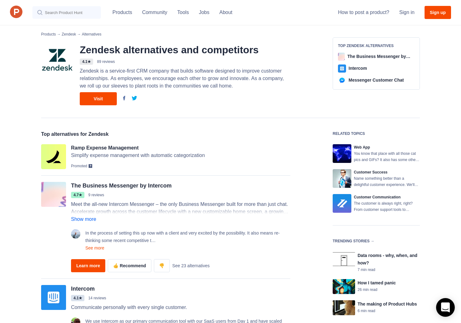 16 Alternatives to Answer Bot by Zendesk | Product Hunt