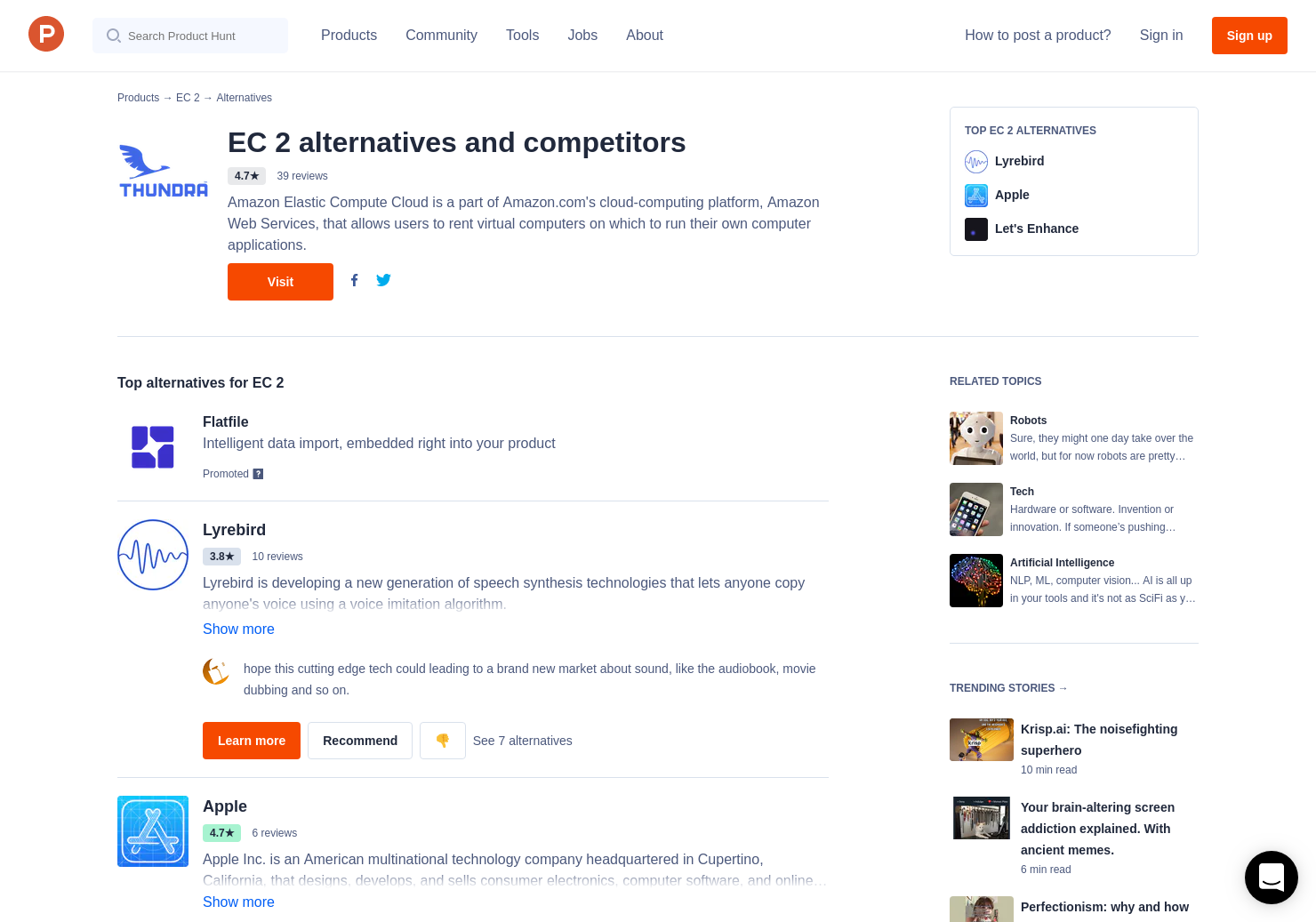 17 Alternatives to Amazon Polly | Product Hunt