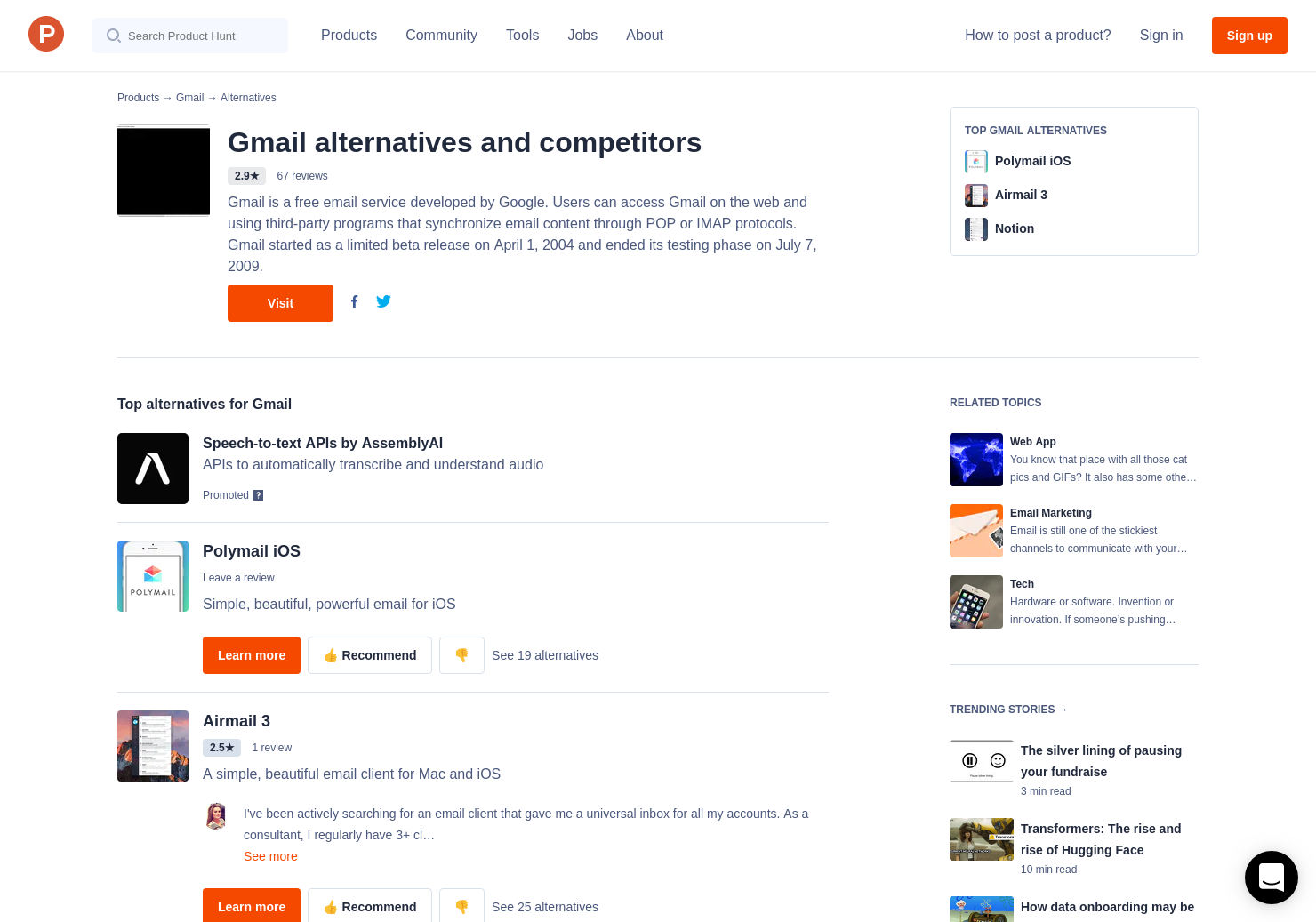 11 Alternatives to Smart Compose in Gmail | Product Hunt