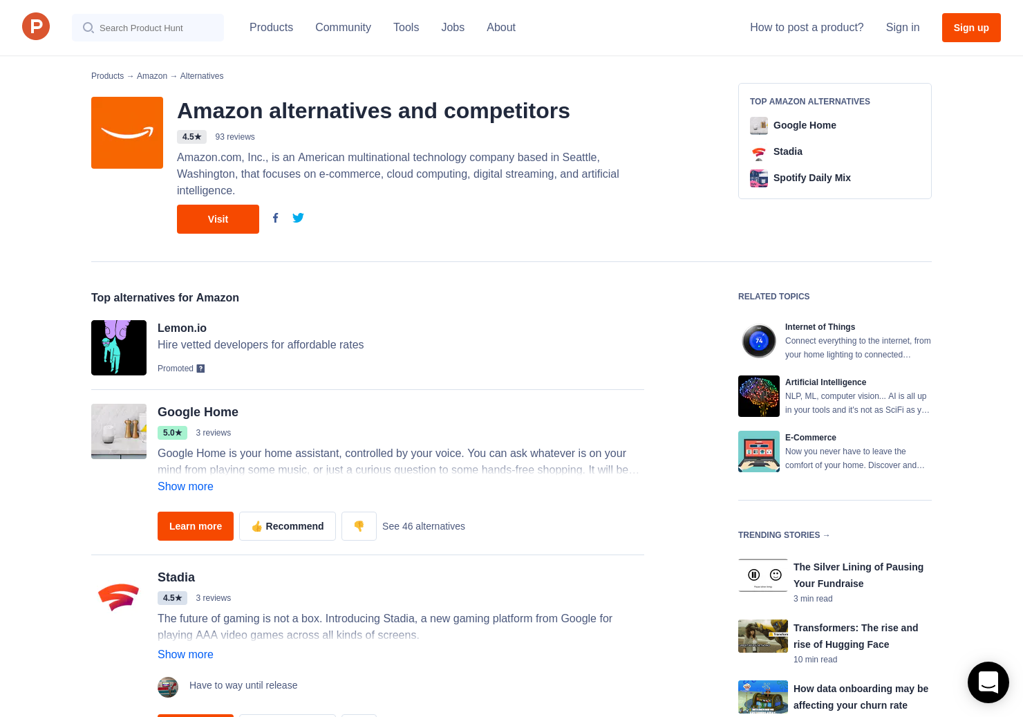 7 Alternatives To Aws Blockchain Templates Product Hunt