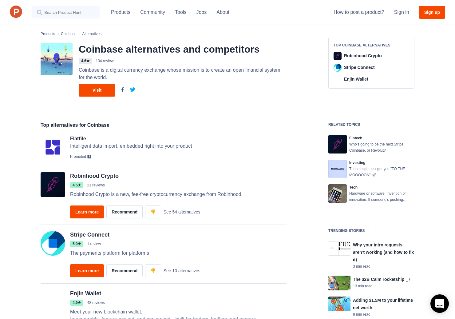 4 Alternatives To Coinbase For IPhone
