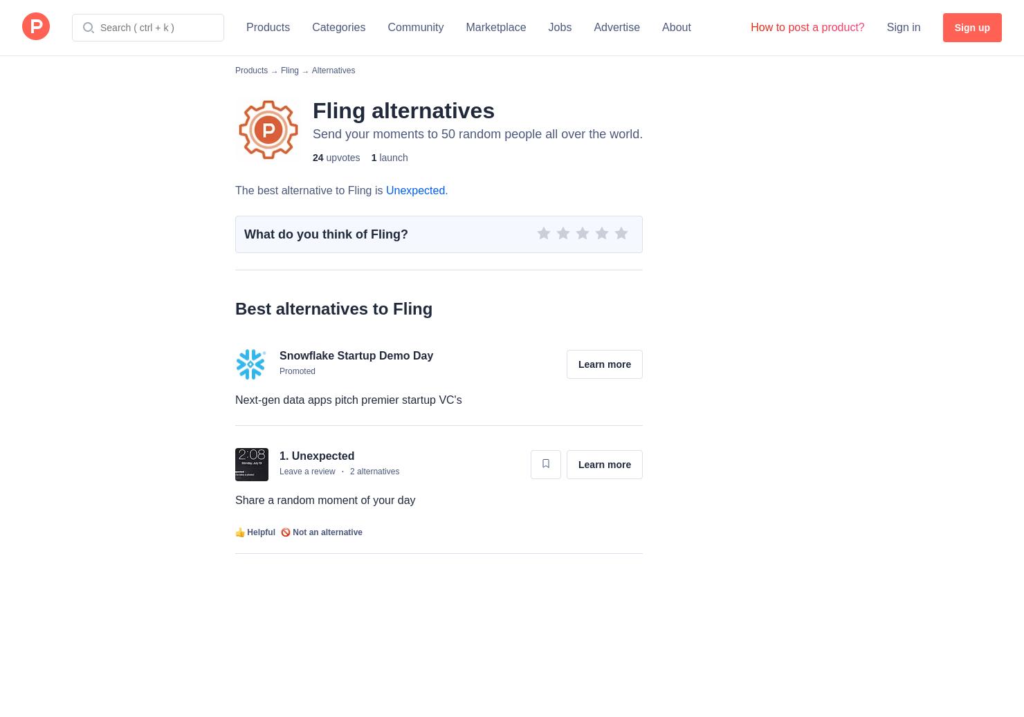 fling app website