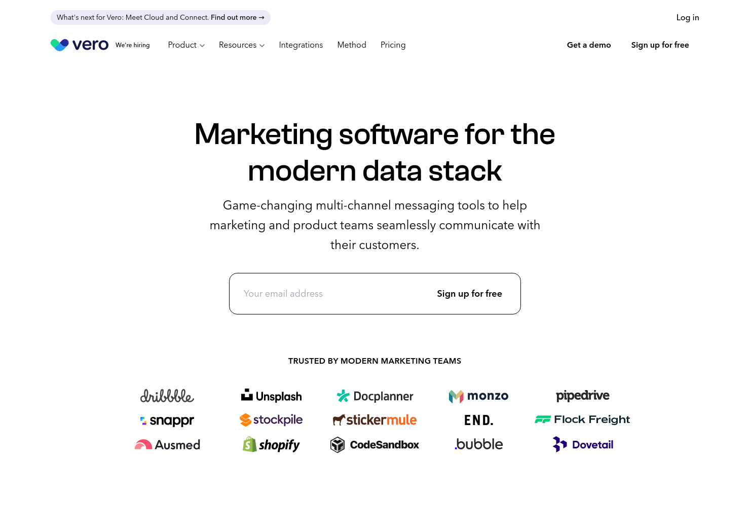 Drag and Drop Email Editor by Vero