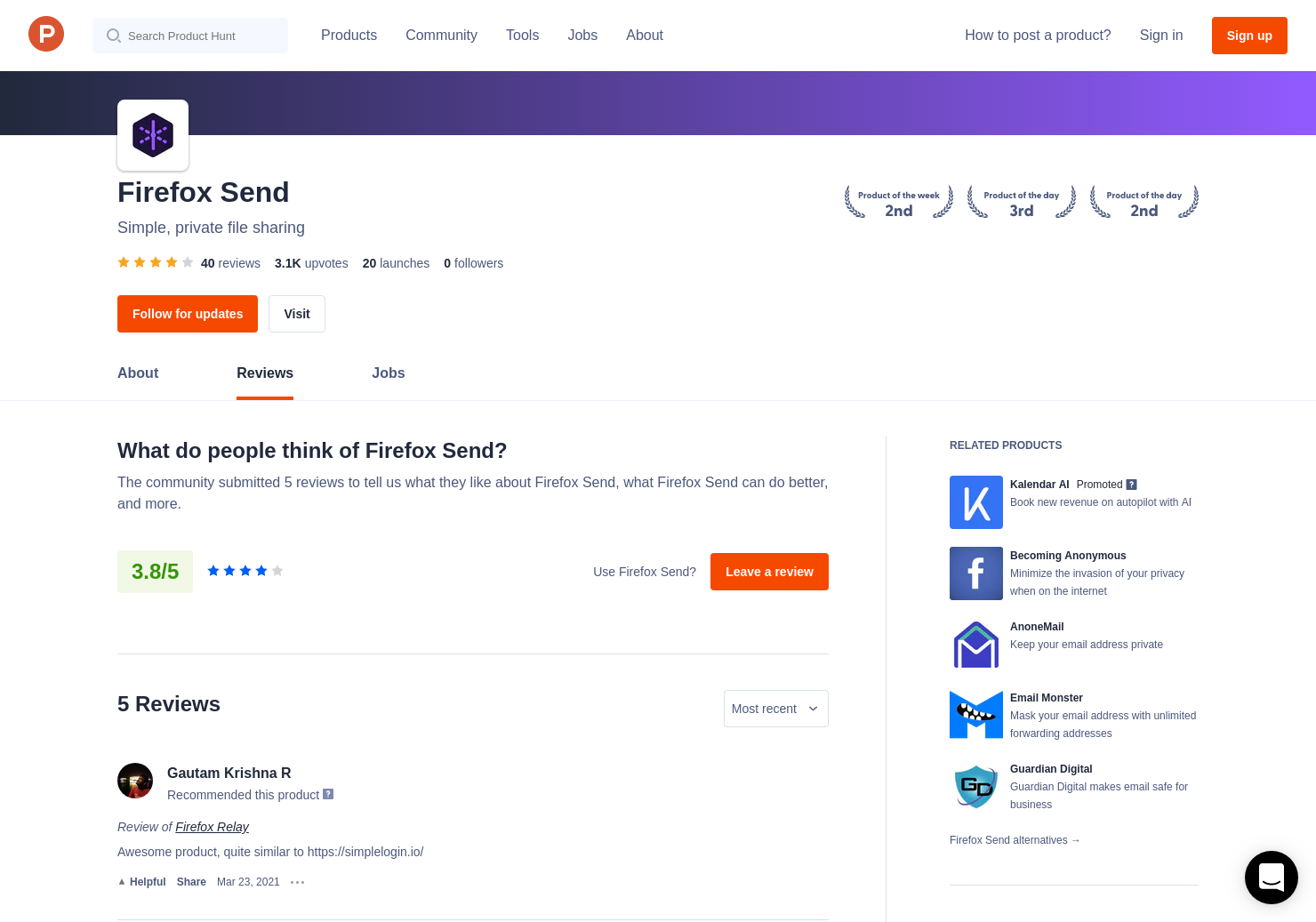 1 Firefox Notes 4 0 Reviews - Pros, Cons and Rating