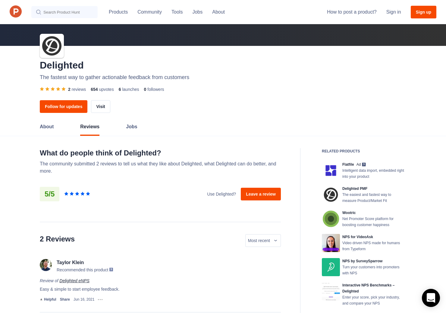 Interactive NPS Calculator (by Delighted) Reviews - Pros