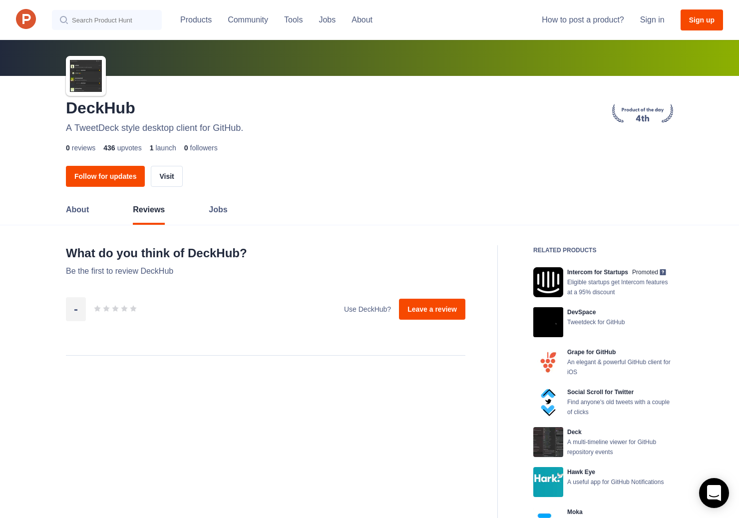 DeckHub Reviews - Pros, Cons and Rating | Product Hunt