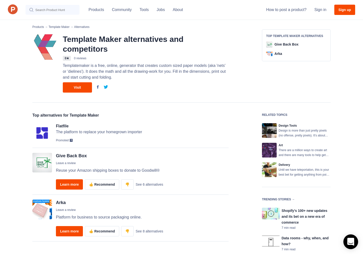 2 Alternatives To Template Maker Product Hunt