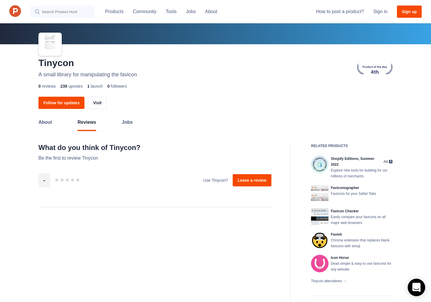 Tinycon Reviews - Pros, Cons and Rating | Product Hunt