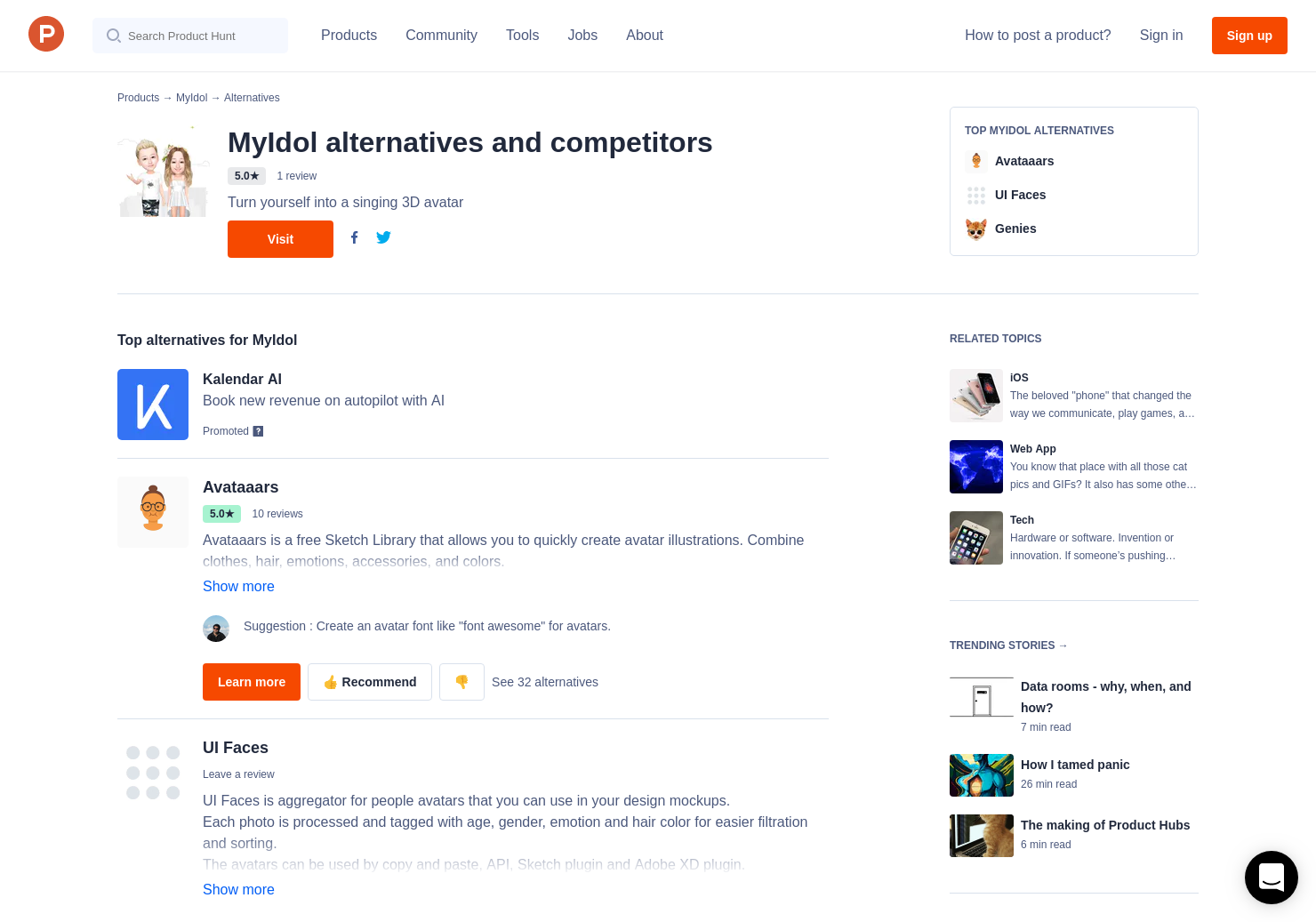Myidol 3d avatar creator android
