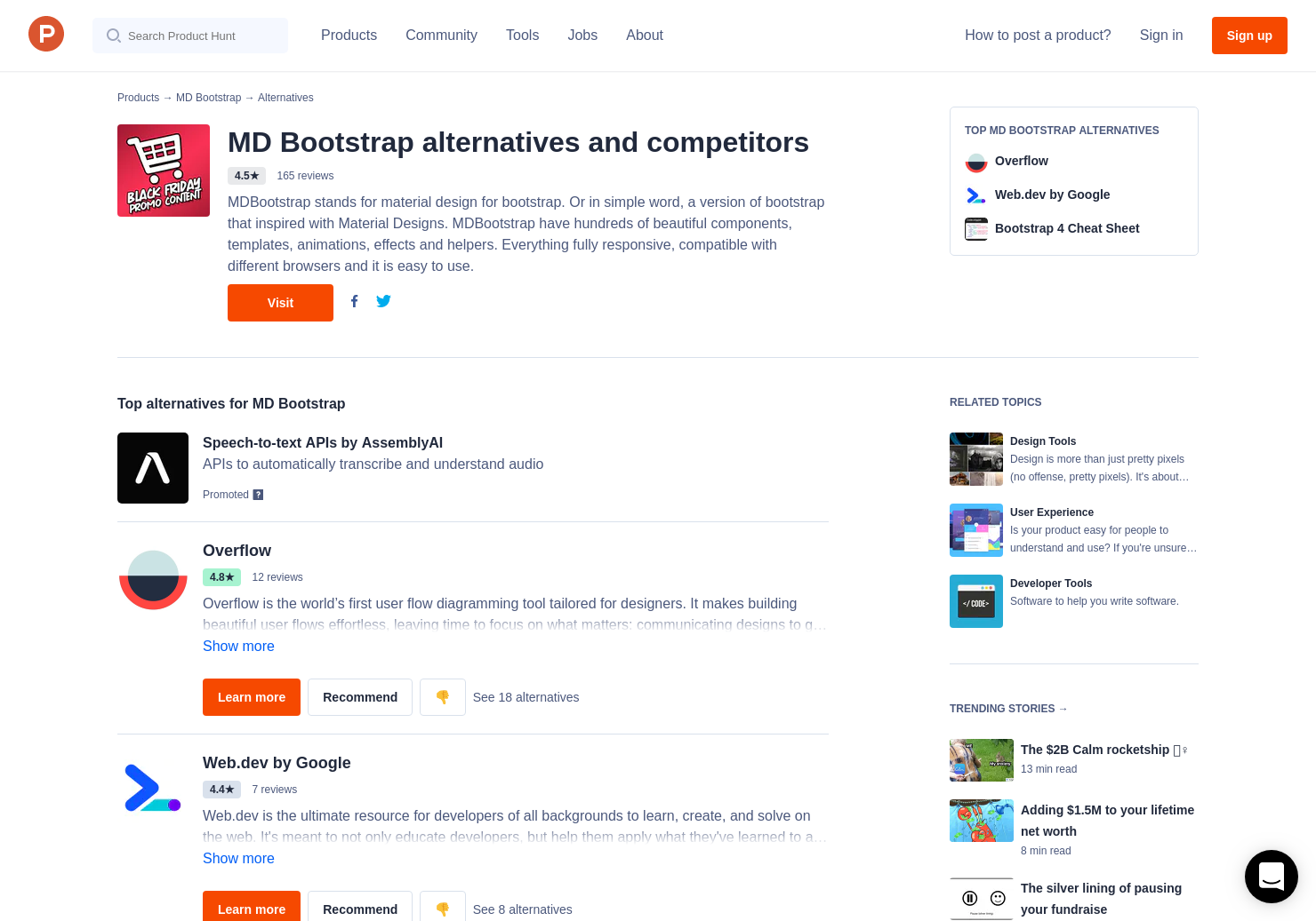 8 Alternatives to Fluent Design for Bootstrap 4   Product Hunt