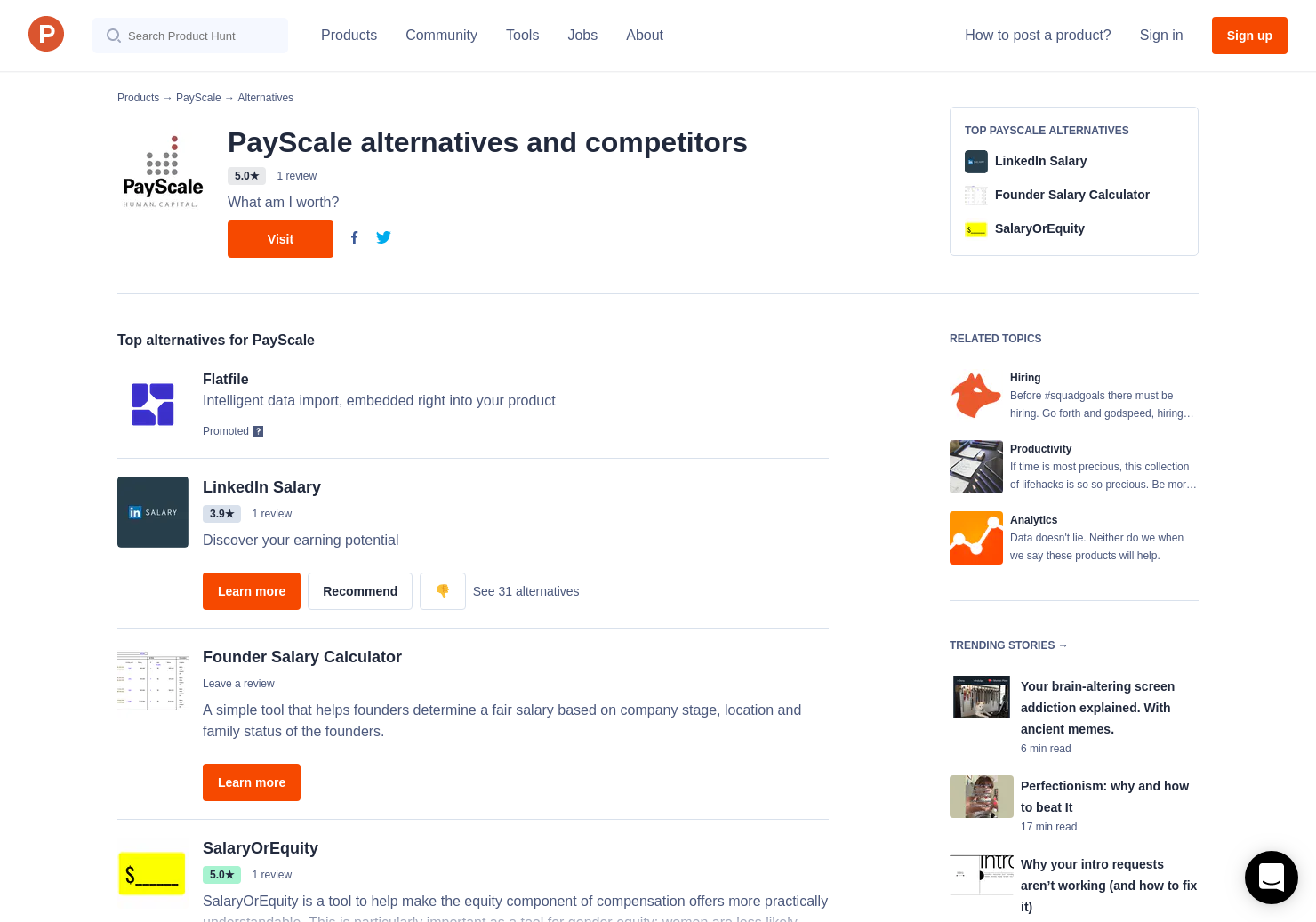 5 Alternatives to PayScale Insight Lab | Product Hunt
