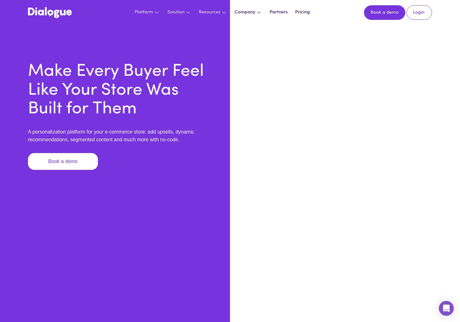 Dialogue: AI Personalization