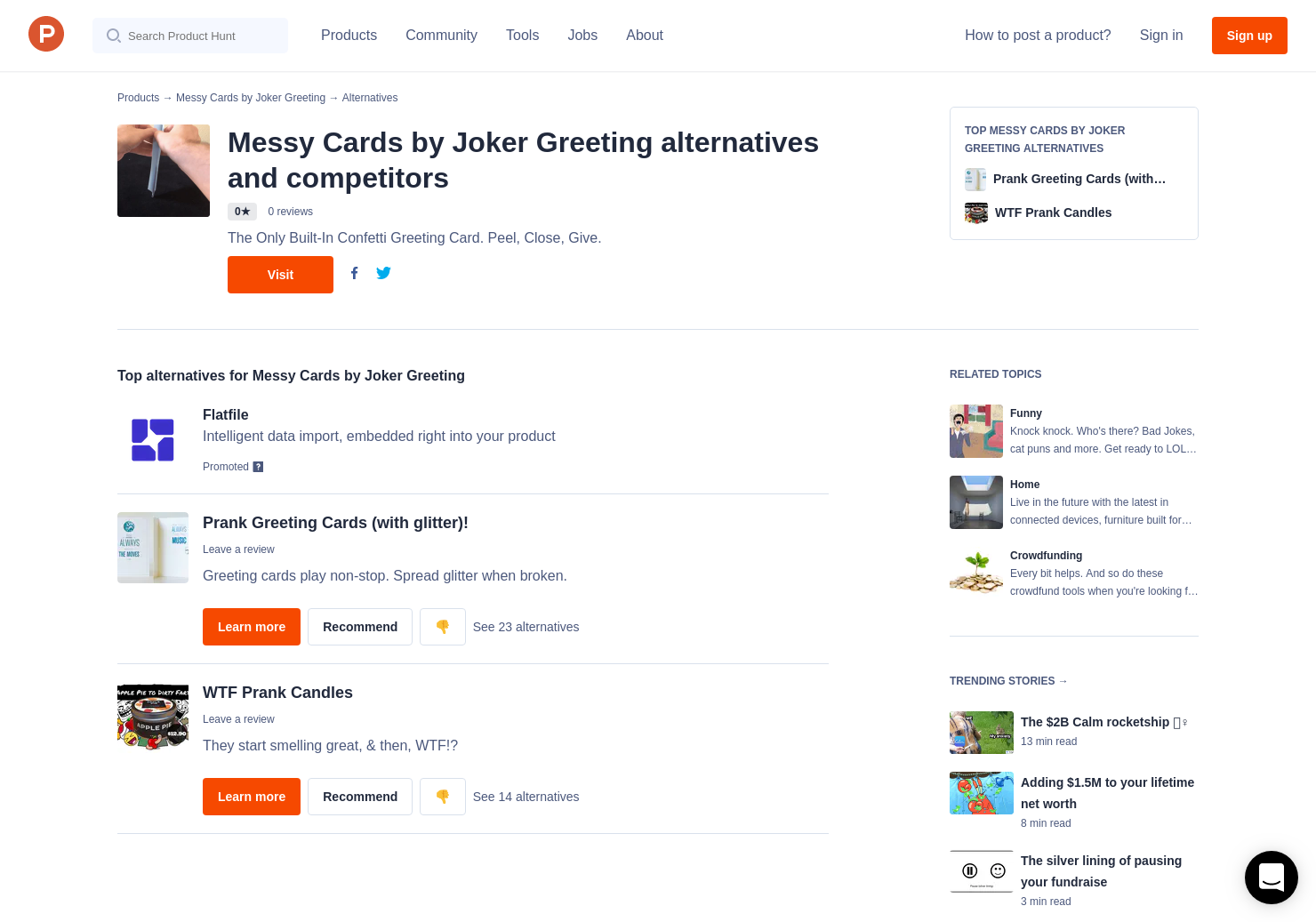 2 alternatives to messy cards by joker greeting product hunt m4hsunfo