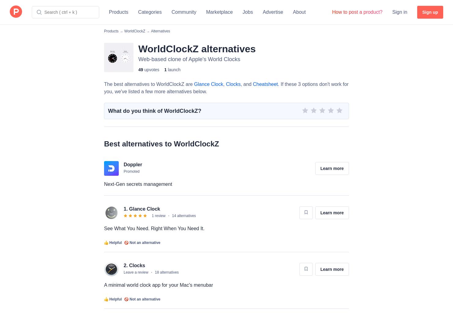 9 Alternatives to WorldClockZ | Product Hunt