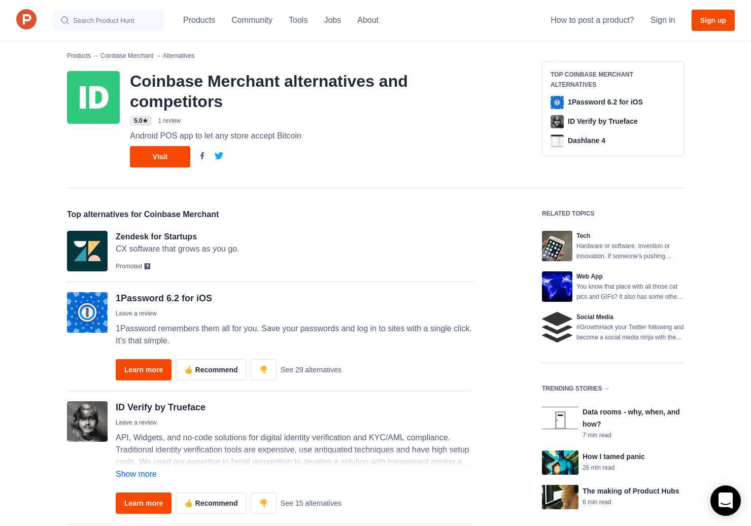 6 Alternatives to ID me   Product Hunt