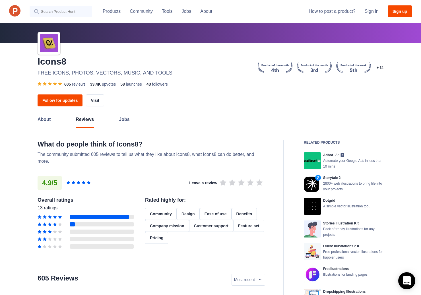 17 Icons8 Web App 2 0 Reviews - Pros, Cons and Rating | Product Hunt