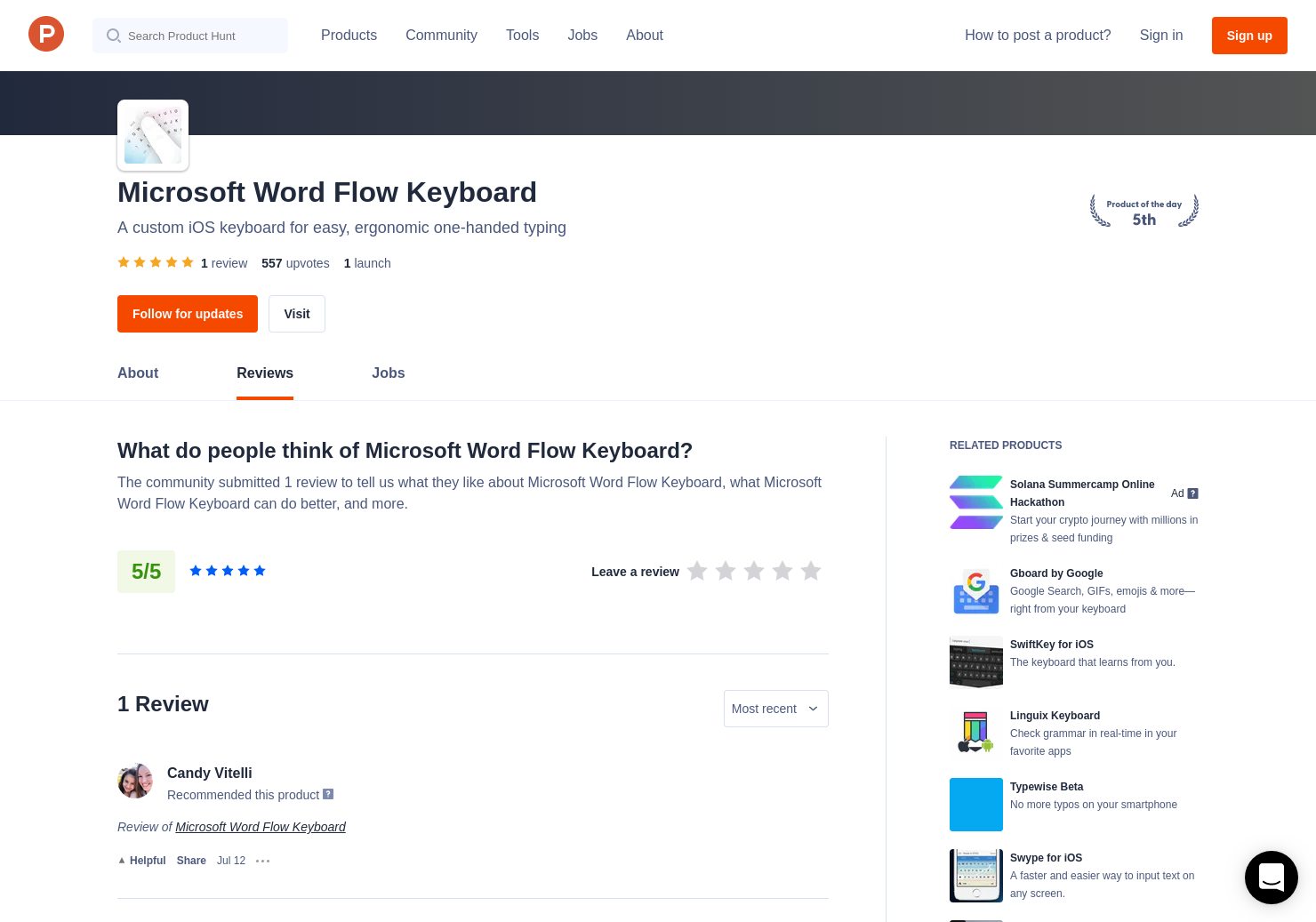1 Microsoft Word Flow Keyboard Reviews - Pros, Cons and