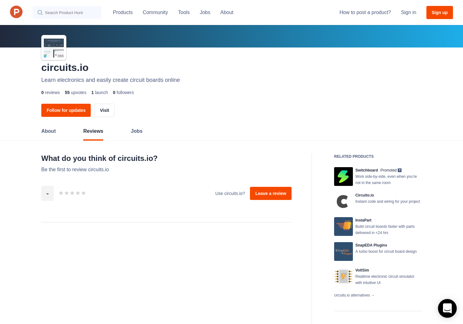 Circuitsio Reviews Pros Cons And Rating Product Hunt Create A Circuit