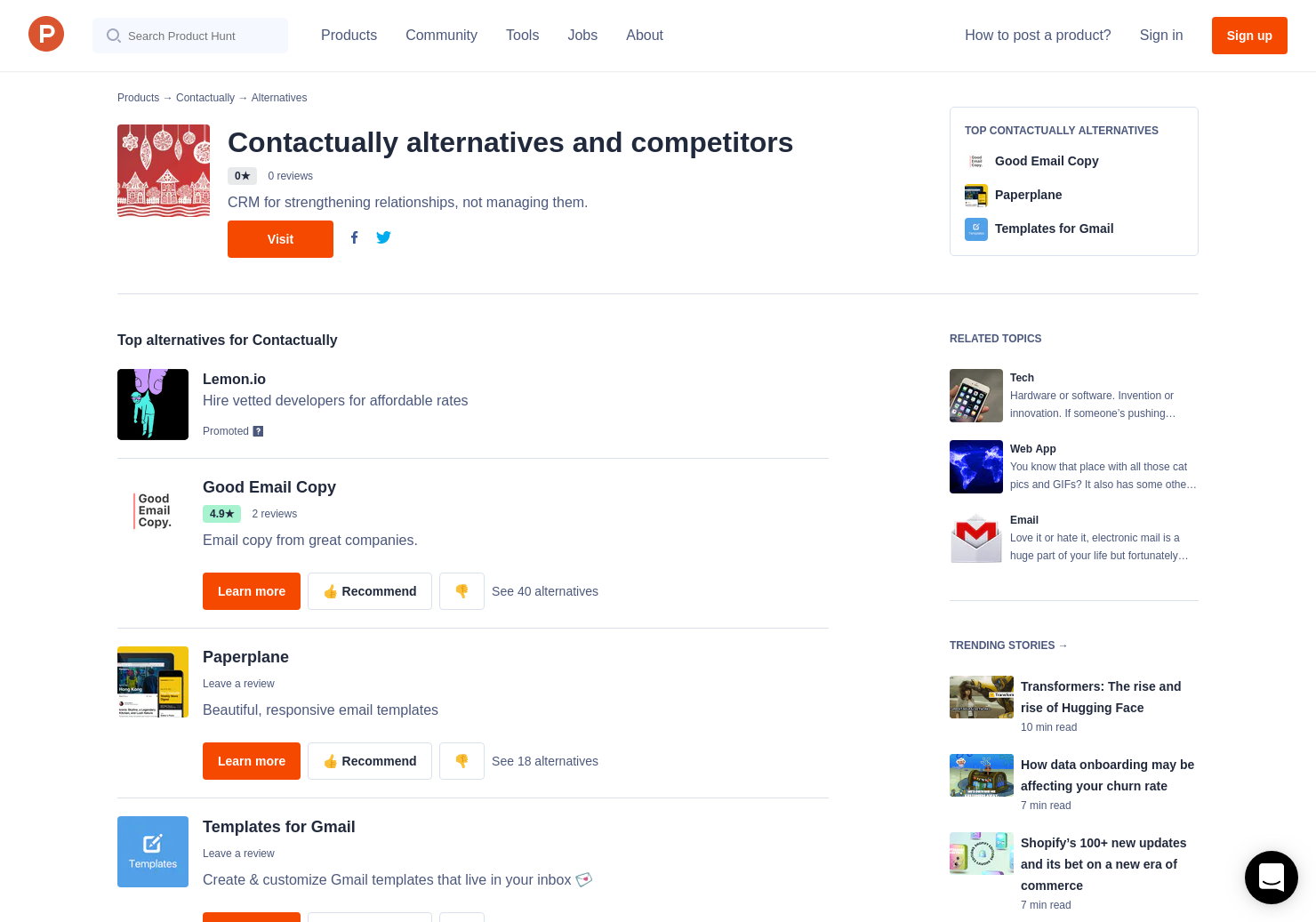 7 Alternatives To Email Template Generator Product Hunt