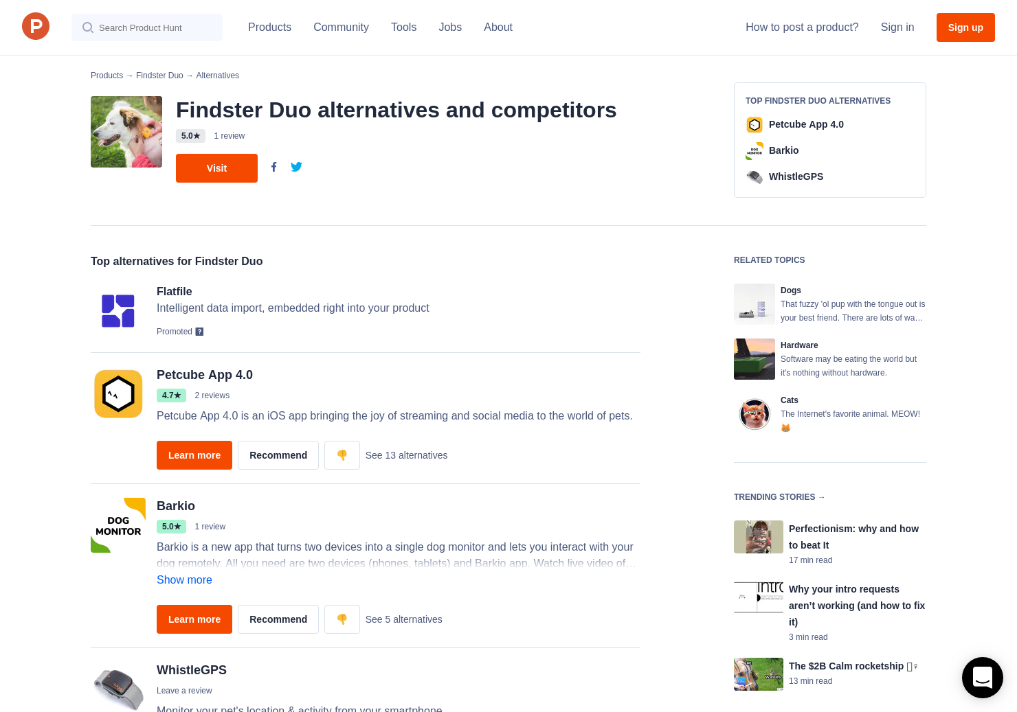 5 Alternatives to Findster Duo | Product Hunt