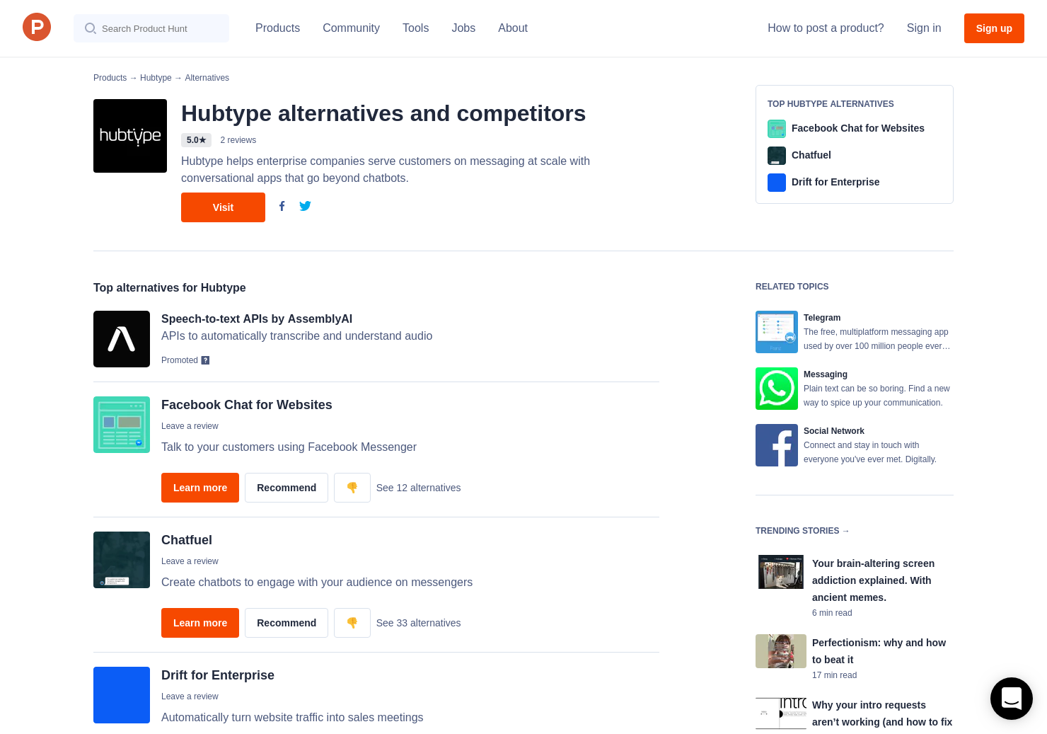 7 Alternatives to Hubtype | Product Hunt