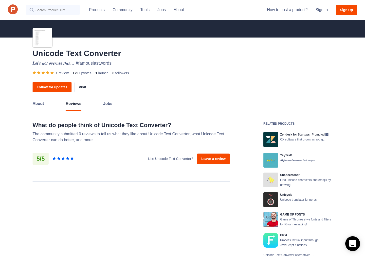 Unicode Text Converter Reviews - Pros, Cons and Rating